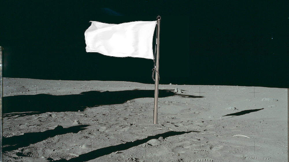 "Facts about ""MOON"" on a flag"