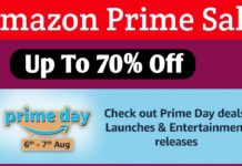Best Smartphones and Gadgets to Buy on Amazon Prime Day Sale 2020 on August 6 and 7 Top Deals, Discounts and More Offers 50% TO 90% Discount with Cashback & Low-Cost EMI