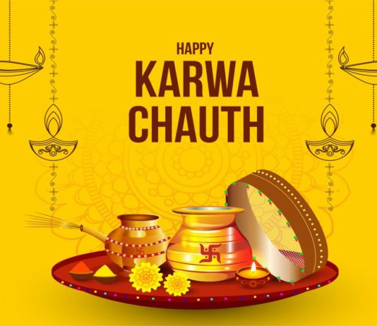 Happy karva Chauth 2021 Wishes Images Shayari Photos Status Quotes Wallpapers Messages SMS and Pics for Facebook Post & Whatsapp Status to Share on Karwa Chauth for Wife Husband GF & BF