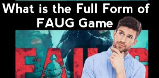 Know Full Details of the Full Form of the FAUG Game, Know Who Announced the FAU-G Game. Full Detail About FAUG Game Full Name | Fauji Game ka Full Form kya Hai ?