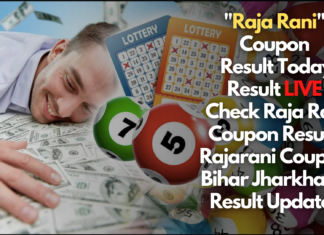 Raja Rani Coupon Result - Find the latest Raja Rani Coupon Result. updated Raja Rani Result here, Raja Rani Coupon Result will contain the Raja Rani Coupon Draw Time, Coupon Name, Result. Raja Rani Coupon Result will have two-digit numbers and the Raja Rani Lottery Result will have different coupon name. To know more about Raja Rani coupon Bihar Jharkhand, Raja Rani coupon chart refer to the article below.