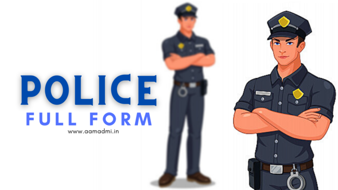 Full-Form of Police Meaning with Interesting Facts | NCB, SP, PSI, CP & ASP Full Form in Police | Public Officer for Legal Investigations and Criminal Emergencies