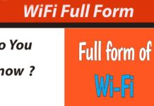 We want to tell you that the full form of WIFI is Wireless Fidelity. We want to tell you that this is a local area technology that provides a standard way to connect with wireless technology.
