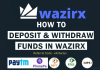 How to Deposit INR in Wazirx, Wazirx INR Deposit Via UPI like Paytm, Phonepe, Google Pay, Wazirx NEFT, RTGS, MPS Deposit, Also you will know How to withdraw INR from Wazirx, Wazirx withdrawal to Bank Account